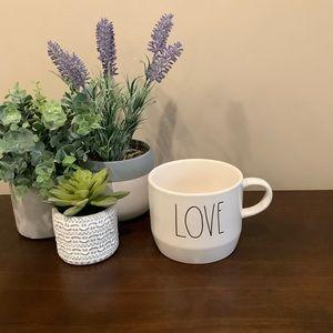 Rae Dunn LOVE Mug ❤️